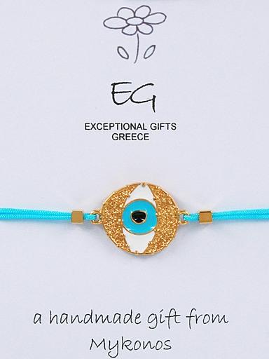 Βραχιόλι βυζαντινό μάτι